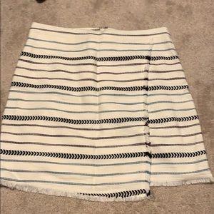 Threaded Mini Skirt